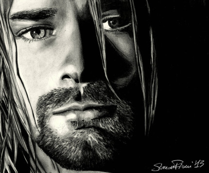 Kurt Cobain by Simone Fiani