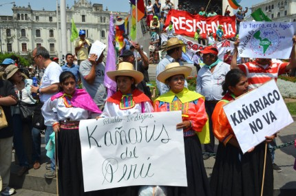Climate March in Lima