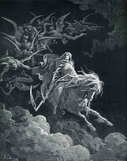 Gustav Dore, The Fourth Horseman