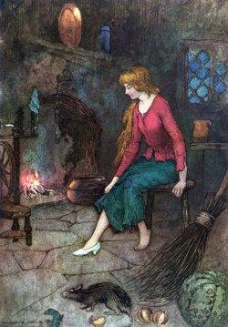 Cinderella, by artist Warwick Goble