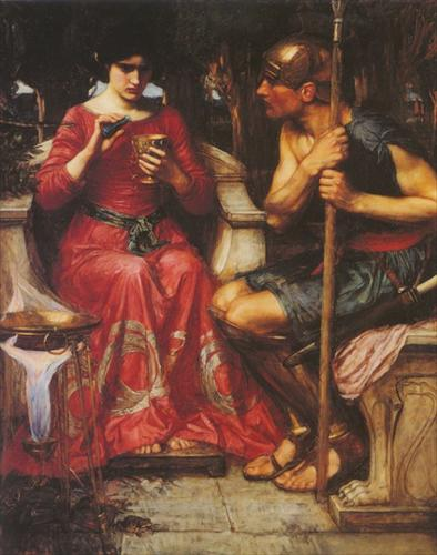 Jason and Medea, by artist John William Waterhouse, 1907