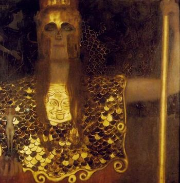 Pallas Athene, Gustav Klimt, 1898
