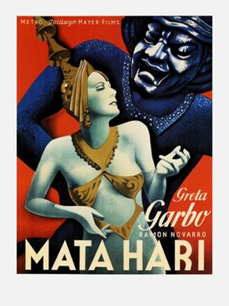 Mata Hari, starring Greta Garbo