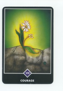 Osho Zen Tarot Deck, Strength Card