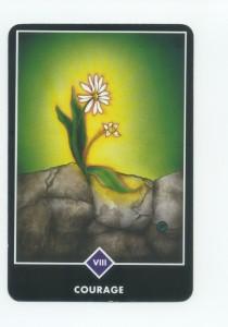 Osho Zen Tarot Deck, Strength Card