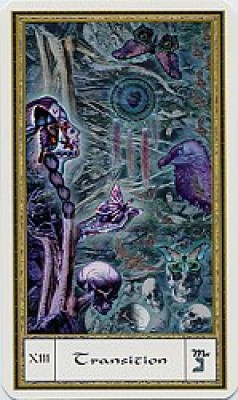 Death Card, Gendron Tarot