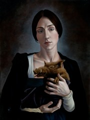 Woman_with_Beast by artist B.A.Vierling