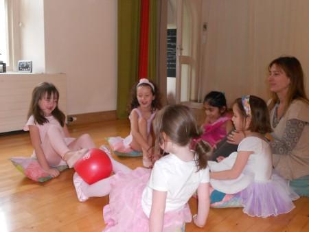 Danielle's Ballet Class