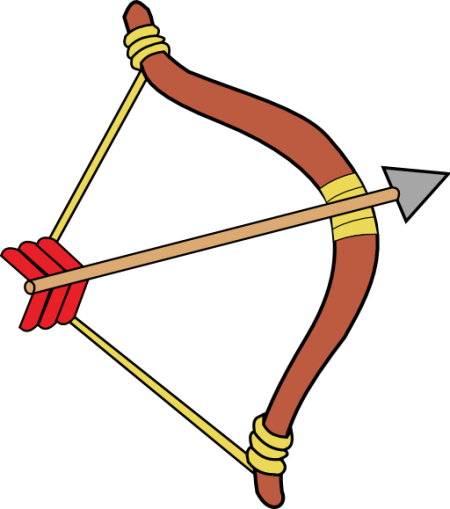 archer-clipart-clipart-bow-and-arrow-512x512-8fad