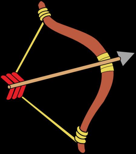archer-clipart-clipart-bow-and-arrow-512x512-8fad