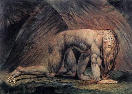 William Blake's Nebuchadnezzar