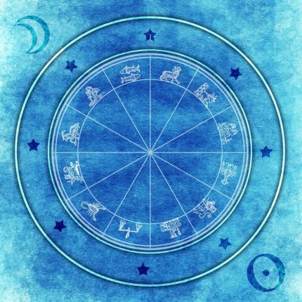 Navigating the celestial — Blue Light Lady